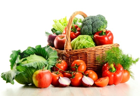 diets high in fruits and vegetables may help protect against many cancers