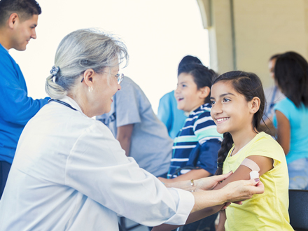 Young girls and boys word wide are getting the HPV vaccine