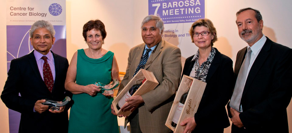 Clifford prize for cancer research recipients 2015