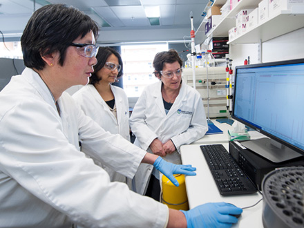 Cancer researchers at WEHI uncover protein structure.
